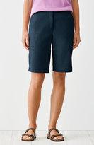 J. Jill Cotton-Stretch Walking Shorts