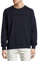 G Star G-Star Tarev Embossed Logo Sweatshirt, Blue