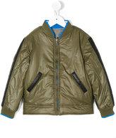 Diesel Jedrak bomber jacket - kids - Cotton/Polyester/polyester - 2 yrs