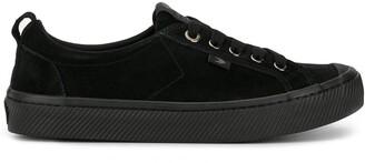 Cariuma OCA Low All Black Suede Sneaker