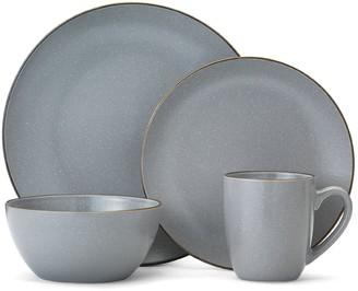 Mikasa Gourmet Basics Juliana Gray Speckling 16-pc. Dinnerware Set