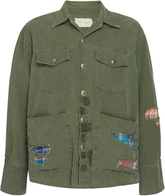 Greg Lauren Patchwork Cotton Jacket