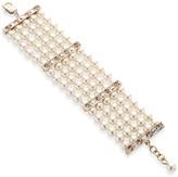 St. John Pearl & Swarovski Crystal Bracelet