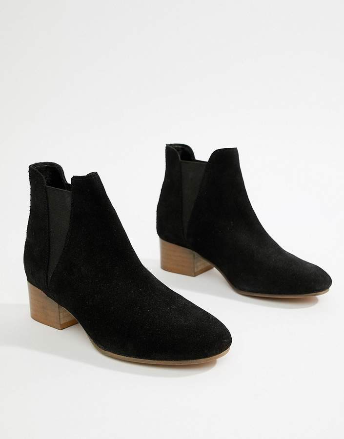 Asos Suede Ankle Women's Boots ShopStyle