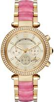 Michael Kors Parker MK6363 Gold Tone Stainless Steel with Gold Dial 39mm Womens Watch
