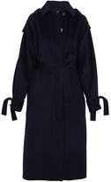 Joseph Clallam Wool And Cashmere-blend Coat - Navy