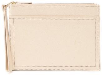 14th & Union Margot Saffiano Leather Wristlet