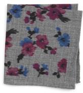 Ted Baker Men's Floral Wool Pocket Square