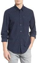 Ben Sherman Men's Mod Fit Print Woven Shirt