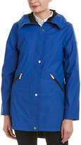 French Connection Storm Flap Slicker Raincoat
