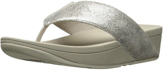 FitFlop Women's Swoop Toe Thong Flip Flop