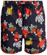 Vilebrequin Moorea Sweater Turtles-print swim shorts