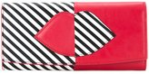 Lulu Guinness lips outline wallet