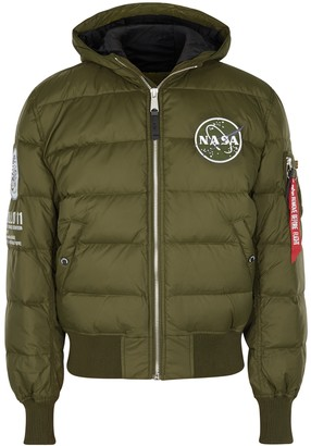 Alpha Industries Apollo 11 Quilted Shell Jacket