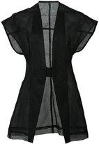 Rick Owens Carapace jacket - women - Silk/Linen/Flax - 40