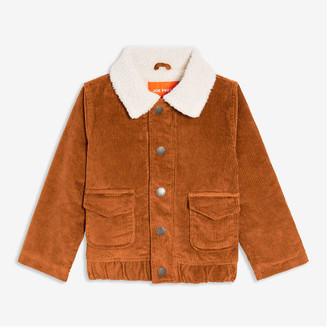 Joe Fresh Toddler Boys' Corduroy Jacket, Dark Bronze (Size 5)