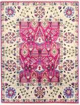 F.J. Kashanian One of a Kind Suzani Hand-Knotted Wool Rug