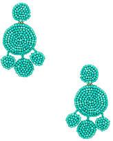 Rebecca Minkoff Beaded Chandelier Earrings