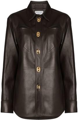 Bottega Veneta Button-Up Shirt Jacket