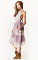 Ale By Alessandra uneven halter dress