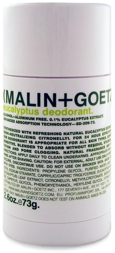 MALIN and GOETZ Eucalyptus Deodorant 2.6 oz.