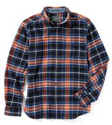 Woolrich Trout Run Long-Sleeve Plaid Flannel Shirt