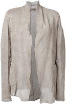 Salvatore Santoro - perforated jacket - women - Leather - 42