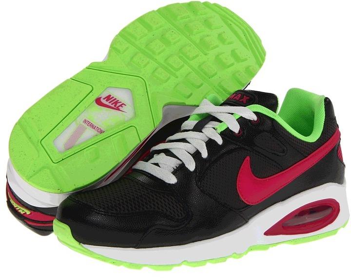 Nike Air Max Coliseum Racer (Anthracite/Black/Summit White/Sport Fuchsia) - Footwear