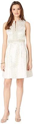 Lilly Pulitzer Franci Dress (Onyx Lagoon Jacquard) Women's Dress