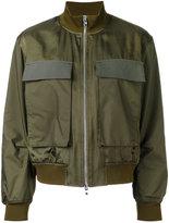 ASTRAET cargo bomber jacket