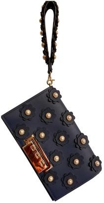 Zac Posen Navy Leather Handbags