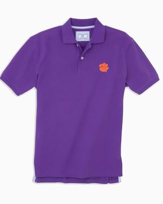 Southern Tide Clemson Tigers Pique Polo Shirt