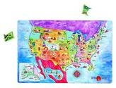 Dowling Magnets Magnetic USA Map Puzzle
