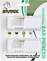Studex Personal Ear Piercer With Gold Plated Crystal Ball