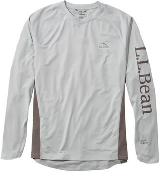 L.L. Bean Men's Tropicwear Knit Crew Shirt, Long-Sleeve Regular