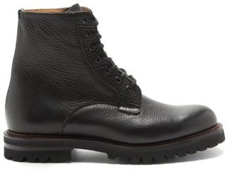 Church's Coalport Grained-leather Boots - Black