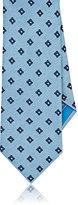 Brioni Men's Floral Jacquard Necktie-LIGHT BLUE