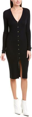 Nicholas Ribbed Wool-Blend Sweaterdress
