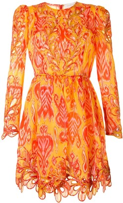 Zimmermann Silk Cut-Out Mini Dress