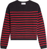 RED Valentino Pullover with Wool, Angora and Cashmere