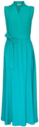 Green Crossed Dress