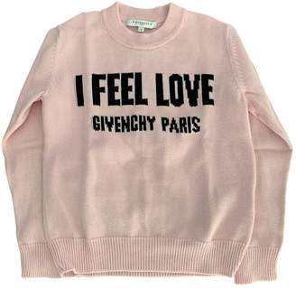 Givenchy Pink Cotton Knitwear