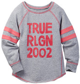 True Religion TR Football Top (Toddler & Little Girls)