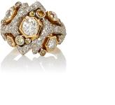 Gioia Coralle Diamond Ring