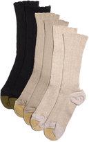 Gold Toe Women's Lacey Crew Socks