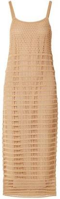 Elizabeth and James Edna Crocheted Cotton Midi Dress