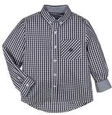Andy & Evan Gingham Check Woven Shirt
