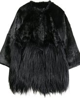 Burberry Prorsum Rabbit And Goat Fur Coat