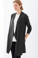 J. Jill Pure Jill Draped-Front Jacket
