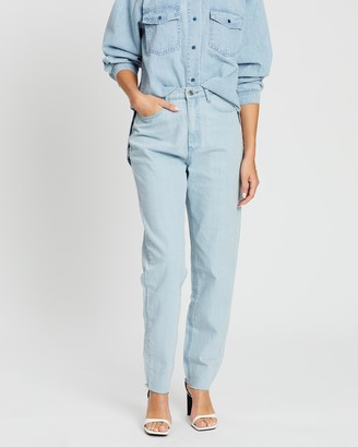 Missguided Riot High-Waisted Mom Jeans